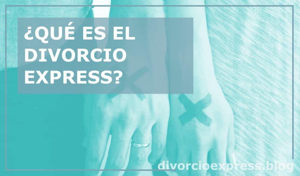 El divorcio express