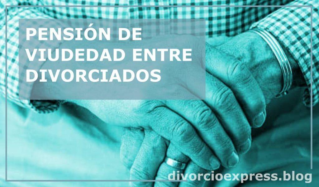 pension viudedad divorciados